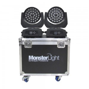 Par no Case Moving Led 36 Led 10W 4 in 1 RGBWA